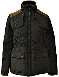 New Womens Girls Diamond Padded Quilted jackets