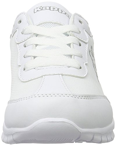 Kappa Unisex-Erwachsene Rocket Low-Top Weiß (White/L'grey)