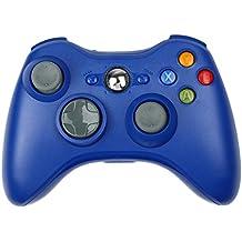 Xbox 360 Controller, STOGA Nuovo Pad remoto Wireless Controller di Gioco per Microsoft Xbox 360 PC Windows 7 XP Joypad (Blu/xbox 360)