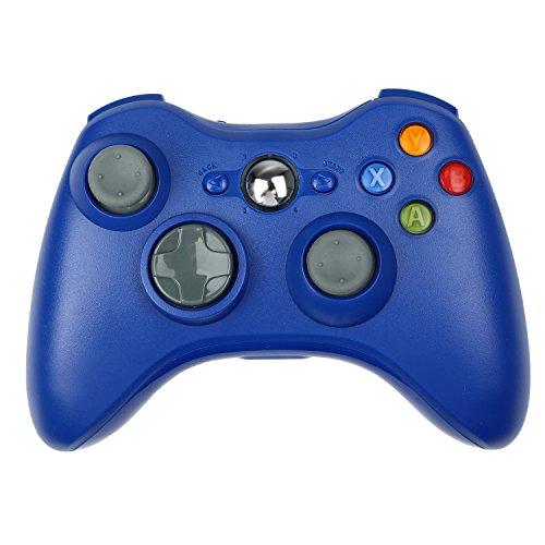 STOGA Xbox 360 Wireless Controller, Xbox 360 Wireless Controller Neu Wireless Remote Pad Game Controller für Microsoft Xbox 360 PC/Windows 7 XP (Blau) Pad Remote