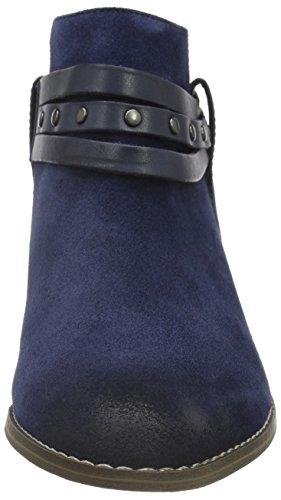 Clarks Breccan Shine, Santiags Femme Bleu (Navy)