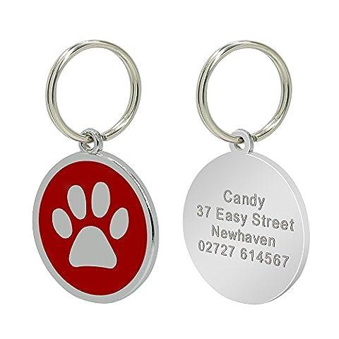 Berry Dog ID Tags personnalisé personnalisée pour animal domestique pour