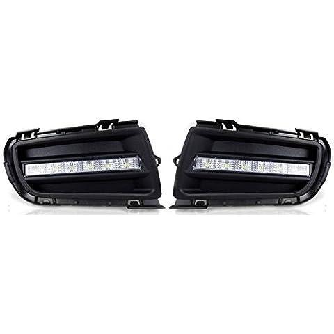 eeMrke EE-15Y09M-DRL082 coche luces de circulación diurna / DRL LED paragolpes luz de niebla para Mazda 6