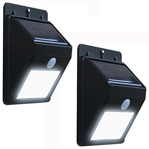AMOS 4 LED Luce Solare Brillante Esterna Luce di Sicurezza