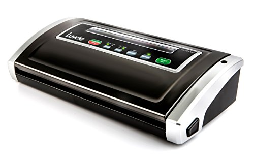 Luvele Supreme Vacuum Sealer Food Saver Kitchen Vacuum Packing Machine Sous Vide Cooking Bags - Luvele's All New Pro Style Model. by Luvele