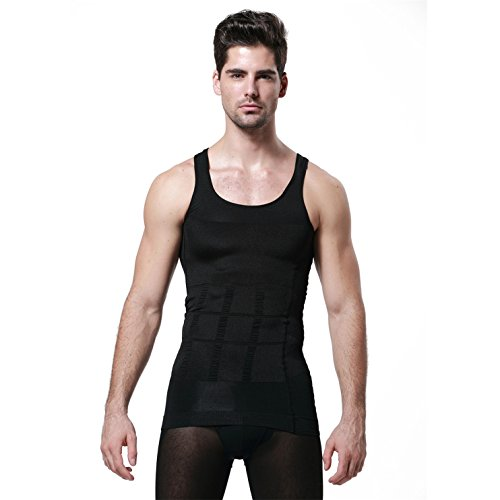 Body Shaper For Men Slimming Shirt Vest Weight Loss Fat Blocker Burner not Pills Abs Abdomen Slim