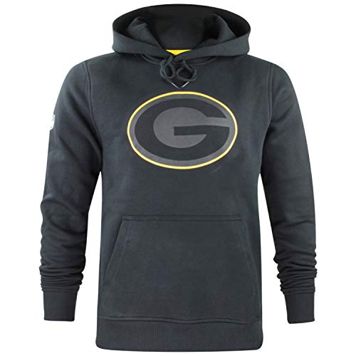 New Era Herren NFL Fan Pack Hoody Kapuzenpullover American Football Two Tone Collection Streetwear Hoodie XXL Green Bay Packers