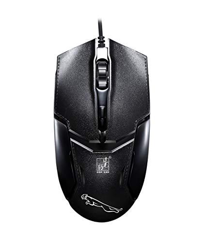 ZXC Kabelgebundene Maus USB Optoelektronische Universal-Notebook-Computer-Maus Anti-Stretch-Hardline-Peripheriegeräte Home Business Office Entertainment -
