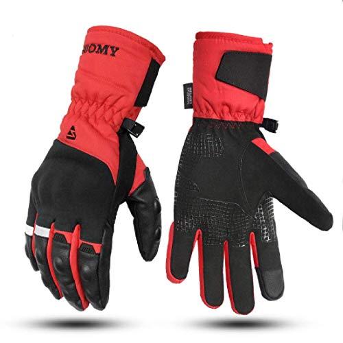 guanti da moto invernali Guanti Moto Invernali 100% Impermeabili Termici