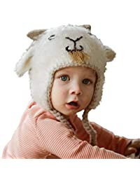ff6c538ef66 Huggalugs Baby and Toddler Boys or Girls Billy Goat Beani Hat S