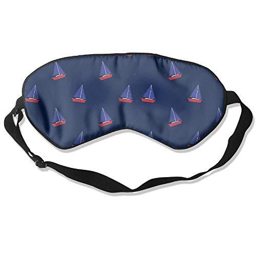 Novelty Boats Unisex Sleep Mask Blinder Shade Eye Mask Eyeshade for Travel,Home,Hotel,Plane -