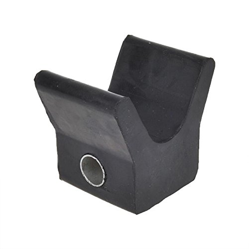 Bugstütze Bugpuffer für Bootsanhänger schwarz