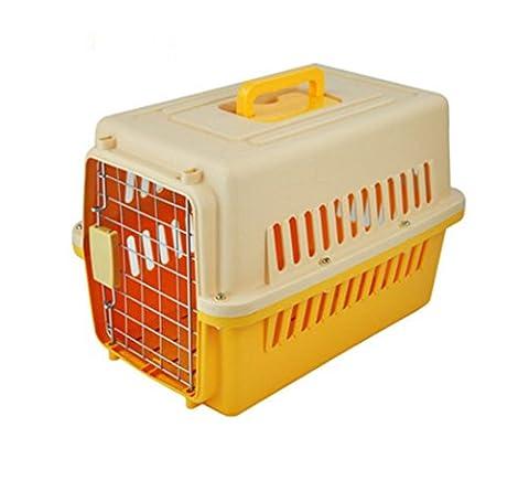 OOFWY Haustier-Kasten / beweglicher Spielraum-Koffer / Katze- und Hundetransport-Luftfahrt-Kasten / großer Code Es gibt Räder / Haustier-Nest / ABS-Harz-Material , D-1