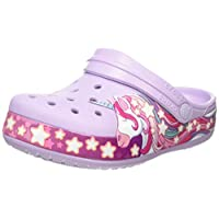 Crocs Unisex Kids Funlab Unicorn Band Clog