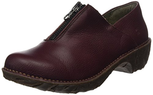 El Naturalista Damen Ng52 Soft Grain Yggdrasil Mokassin Boots, Rot (Rioja), 36 EU (Leder Booties Soft)