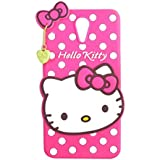 Qzey Nice Hello Kitty Case Cover For Htc Desire 620 - Pink