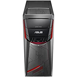 Asus ROG G11CD-K-FR065T Unité centrale Gamer Noir (Intel Core i7, 16 Go de RAM, Disque dur 1 To + SSD 256 Go, Nvidia GeForce GTX1060 3G, Windows 10)