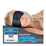 daydream Schlafmaske für Frauen & Herren | Schlafmasken | Schlafbrille | Augenmaske | Augenklappe | gratis Kühlkissen (= Kühlmaske) | Topseller seit 10 Jahren | Testsieger
