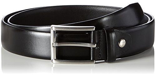 MLT Belts & Accessoires Herren Business-Gürtel London, Schwarz (black 9000), 110 cm