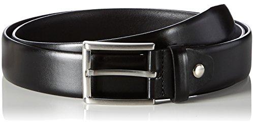 MLT Belts & Accessoires Herren Business-Gürtel London, Schwarz (black 9000), 95 cm
