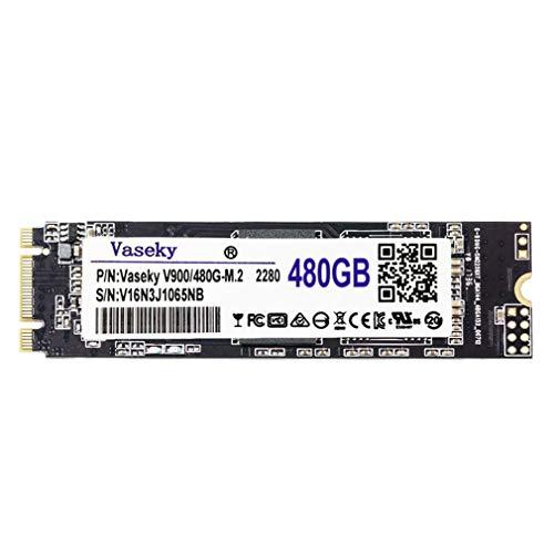 DERNON Vaseky 256G / 480G Festplatte M.2 2280 MLC NGFF Interface Solid State Festplatte schwarz - Schnittstelle Festplatte