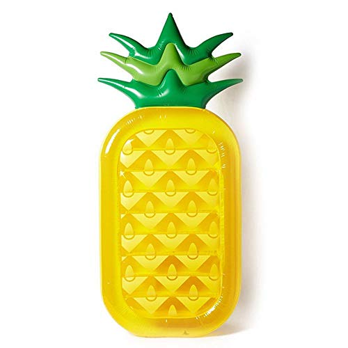 Comfot Galleggiante Gonfiabile Animale del Galleggiante della Piscina dell\'ananas per Il Salotto della Spiaggia del Partito di Estate dello Stagno