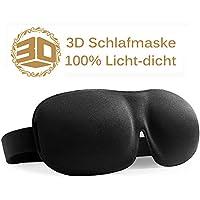 Schlafmaske für erholsamen Schlaf, 3D geformte Augenmaske – Größerer und Tieferer Raum für die Augen – 100% Licht-dicht... preisvergleich bei billige-tabletten.eu
