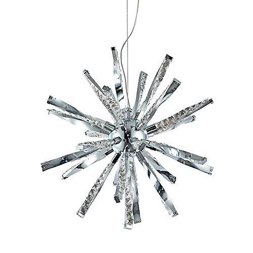 SELMAL Crystal Pendant Licht, LED Pendant Light Crystal Star Chandelier für Schlafzimmer Bad Living Room Restaurant Bar Kitchen (Pendant Light Star)