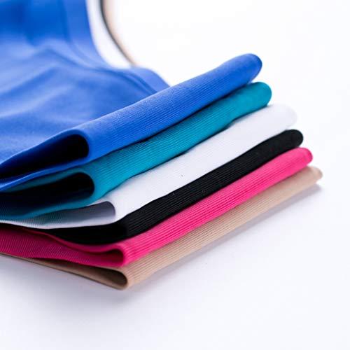 Sharplace Damen Hipster Nahtlose Bikini Slip Bikinihose Badeslip Unterwäsche Panty, Größe und Farbe Auswahl - Rosenrot, S - 7