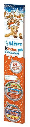 Ferrero Kinder Schokolade 1/2 Meter Inhalt: 24 Riegel Inhalt: 300g Schokolade für Kinder mit Hase als Motiv.