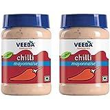 Veeba Chilli Mayonnaise, 275g (Pack of 2)