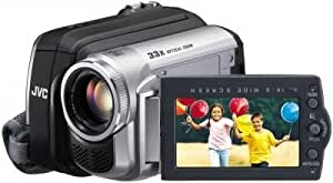 JVC GR-D815 Caméscope numérique miniDV zoom optique 33x 800 000 pixels Silver