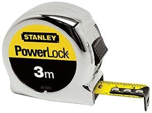Stanley 033522 Powerlock Classic Tape 3m