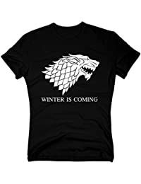 T-Shirt Game of Thrones – Winter is Coming Stark