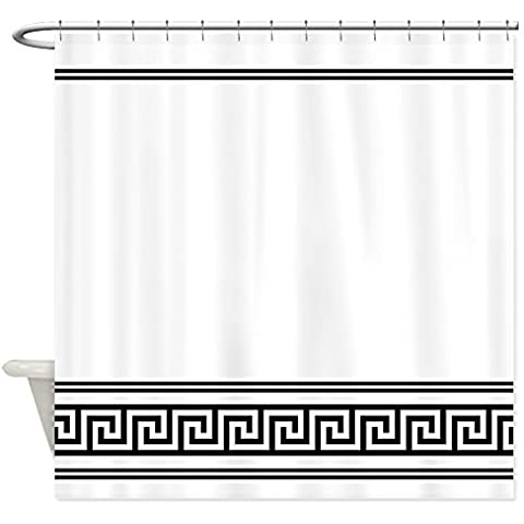 CafePress Art Deco Geometrico Bianco e nero – Tenda