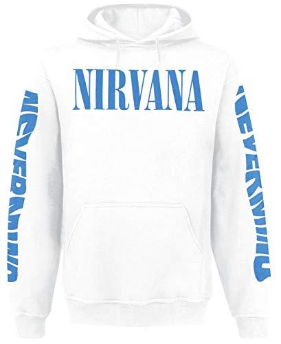 Nirvana Nevermind Sudadera con Capucha Blanco XXL