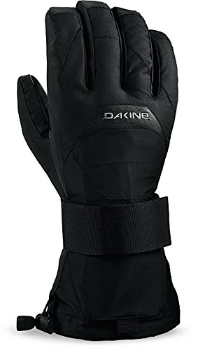 DAKINE Herren Handschuhe Wristguard Gloves, Black, S, 01300320 (Dakine-fleece-handschuhe)
