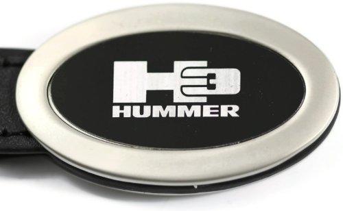 dantegts-hummer-h3-ovale-noir-porte-cles-en-cuir-authentique-logo-porte-cles-anneau-porte-cles-porte