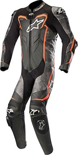 Pelle-Kombi-Alpinestars-GP-Plus-V2-Costume-Camo-NeroRossoCAMO