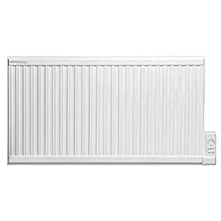 Adax APO Oil Filled Electric Radiator, Wall Mounted, With Thermostat. Heats up to 15.5m2 Room Space, 1250W