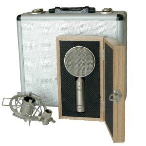 Lolly-Eight Kompaktes Bändchenmikrofon Vintagestyle, 8-Charakteristik