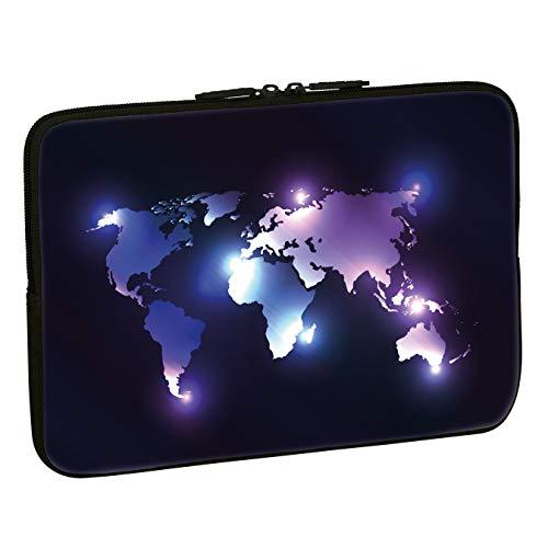 Pedea Design Tablet PC Tasche 10,1 Zoll (25,6 cm) neopren, dark world