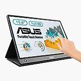 Asus MB16AMT - Ecran Portable tactile 15,6' FHD - Alimentation et Affichage via USB-C ou USB-A +...