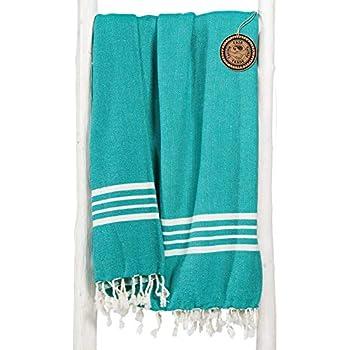 The serviette de hammam bleu modèle classic de «my ...