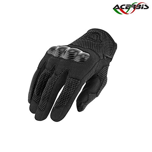 Acerbis 0022355.090.069 Guanti Ramsey My Vented XXL, Nero