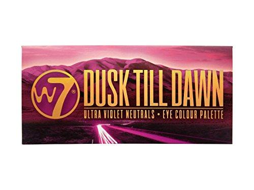 W7 Dusk Till Dawn Ultra Violet Neutrals 14 Colour Eye Shadow Palette