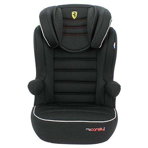 Mycarsit Rehausseur Isofix Ferrari, Groupe 2/3 (de 15 à36 kg), Noir