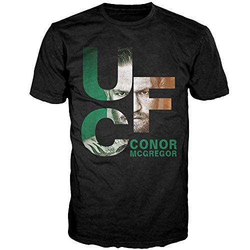 GTSTCHD Men's Conor McGregor UFC Logo T-shirt