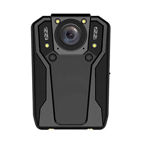 Ir-video-cam (AKAKKSKY HD 1296P Polizei Körper Getragen Video Kamera Sicherheit IR Cam, eingebauter Akku, 2 '' LCD-Display, 170 ° Weitwinkel, wasserdichtes IP68-Format 7 Stunden Aufnahme)