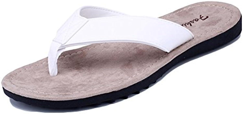 Sommer waten Schuhe  Herrenschuhe  Flip Flops  White  44Sommer waten Schuhe Herrenschuhe Flops